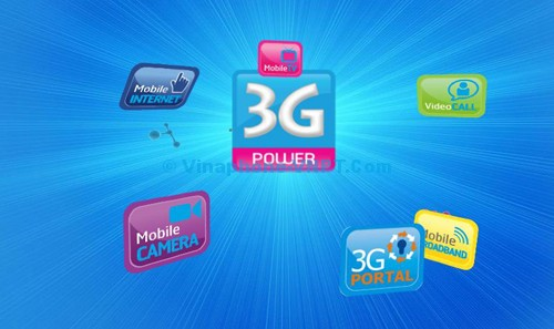 Gói cước Mobile Internet Vinaphone