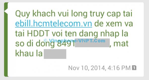 SMS Hóa đơn điện từ3