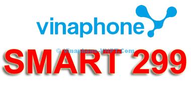 Gói cước Vinaphone trả sau SMART 299