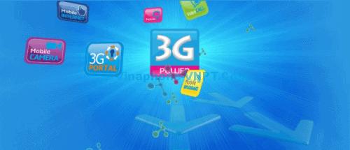 gói cước 3G VinaPhone trả sau