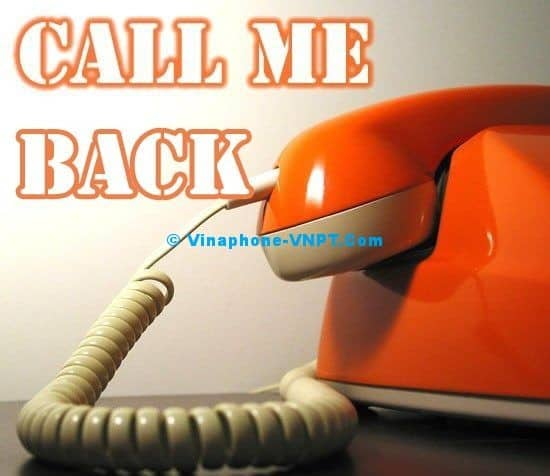 Dịch vụ gọi lại cho tôi - Call me back
