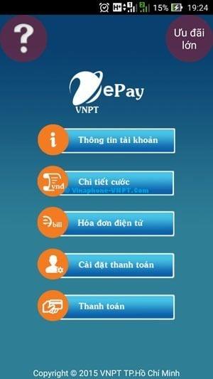 Ứng dụng VNPT ePay