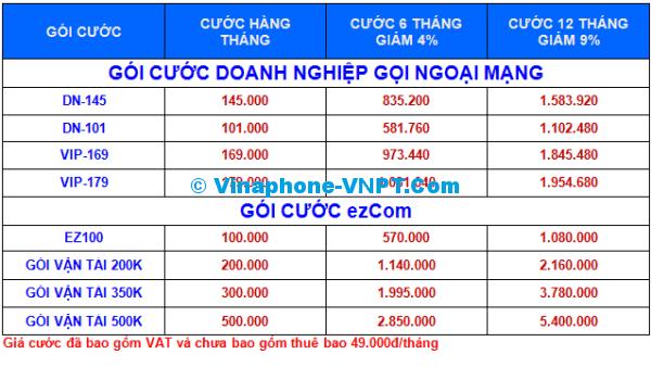 DONG CUOC TRUOC VINAPHONE TRA SAU