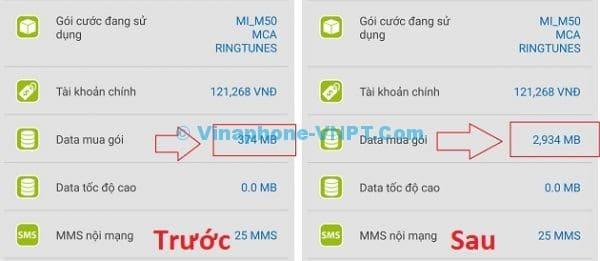 VinaPhone tặng 2.5 GB dữ liệu 3G khi cài đặt ứng dụng My VinaPhone