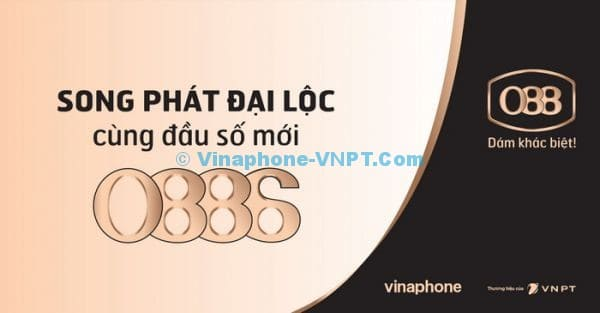 Đầu số mới 0886 Vinaphone