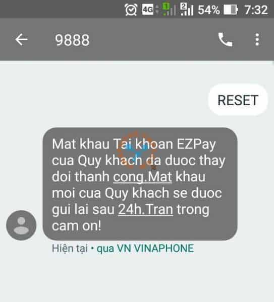 Cách hủy dịch vụ EZpay VinaPhone