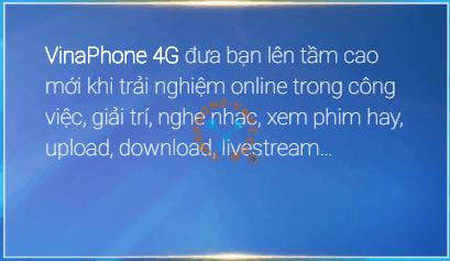 Công nghệ 4G VinaPhone vượt trội