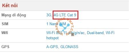 Thiết bị có hỗ trợ dịch vụ 4G