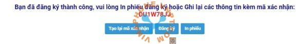Mã xác thực chọn số VinaPhone