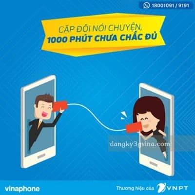 huê bao vinaphone gọi miễn phí 10 phút